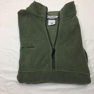 Columbia Unisex XL Quarter Zip Pull Over Fleece